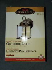 Design House Coach Oil-Rubbed Bronze Outdoor Wall-Mount Downlights