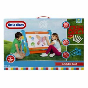 Little Tikes Inflatable Indoor/Outdoor Easel Kids Studio Art Drawing Board Toys