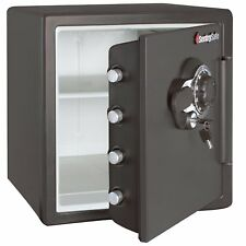 Key Lock Combination Security Safe Storage Bolt Box Fire Water Safe 1.23CuFt New