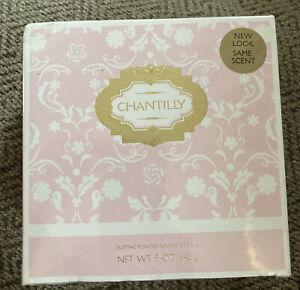 Brand New Chantilly by Dana for Women Dusting Powder  5 oz   * SEALED BOX *