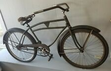 VINTAGE 1930's MANTON SMITH PREWAR BALLOON TIRE BICYCLE CRUISER BIKE SKIP TOOTH