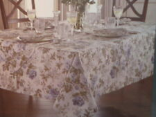"""Waterford 70"""" Round Fabric Tablecloth - Jaden Blue"""