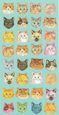 Carino Gatto Viso Adesivi KAWAII Pet divertente Giapponese cartoleria regalo amanti gatti