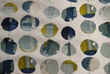 Zest Bluejay Blue Green Contemporary Geometric Hamilton Fabric
