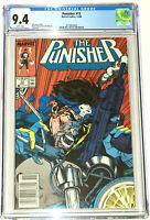 Punisher #13 Whilce Portacio Cover CGC 9.4 Marvel Comics 1988