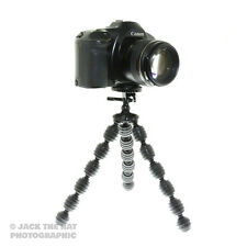 Heavy duty flexible camera tripod w / plaque de dégagement rapide et fits. DSLR CSCS