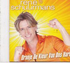 Rene Schuurmans-Oranje De kleur Van Ons Hart cd single