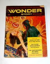 WONDER STORY ANNUAL 1951  VOL 1 ISSUE #2   SCI-FI PULP MAGAZINE