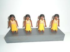 PLAYMOBIL - 4 NUBIAN WOMEN WITH ACCESSORIES