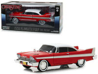 """1958 Plymouth Fury Red """"Evil Version"""" (Christine) 1983 Movie 1/24 Scale Car"""