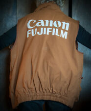 CANON Photographers Film Vest from the 1997 Roland Garros in Paris XL