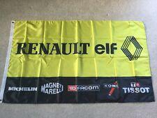 RENAULT ELF 5 Turbo CLIO SPORT CUP V6 Megane RS Workshop Garage Bandiera Banner