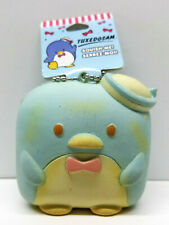 (w/ Tags) Sanrio Tuxedo Sam Squishy Toasted Marshmallow Keychain Hello Kitty