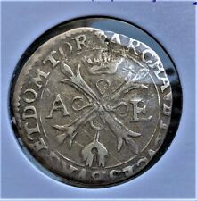 Belgium/ Brussels, Spain - 1/5 Patagon Philip IV 1621-1665/ SILVER COIN