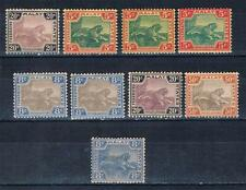 Malaya 1901,1904-10 MH LOT SC#24,29,30,32,33b,46 1909 5 Stamps expert signed