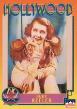 Ruby Keeler, Actress, Hollywood Star, Walk of Fame Trading Card --- NOT Postcard