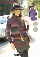 Sirdar Womens Knitting Pattern - Jackets - 9178 - Escape DK