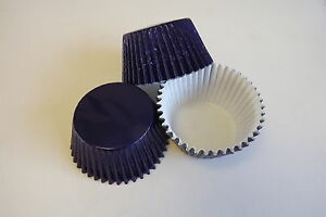 *Just Arrived*  NEW  pack of 50 x   NAVY BLUE   Foil muffin / cup cake cases