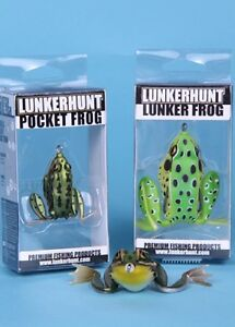 "LunkerHunt Lunker Frog, ICAST Winner, 2-1/2"", Choice of Colors"
