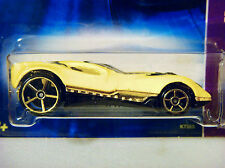 2007 HOT WHEELS - CUL8R - 1/64 - GOLD OH5SP's WHEELS