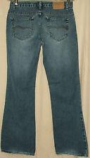 "American Eagle Distressed Blue Jeans Size 4 Petite Measure 31"" W X 31"" L EUC"