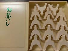 Professional Koto Bridge Set Namiji Style - Japanese Musical Instrument