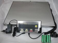 DIGITALE PLATTFORMWAAGE JSHIP 130 VON SCALE 0,05KG x 60 KG EDELSTAHL PAKETWAAGE