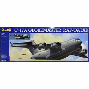 Revell 04674 C-17A Globemaster RAF/Qatar 1/144 scale plastic model aircraft