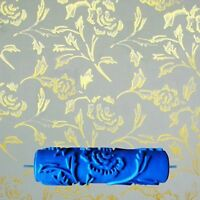 Painting Roller Rubber Wall Decorative Patterned Wall Decoration 3D Flower Style