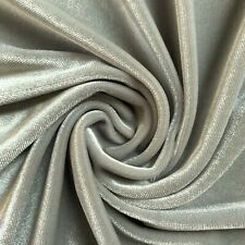 45 Colors Princess Polyester Stretch Velvet Fabric by the Yard - 10001