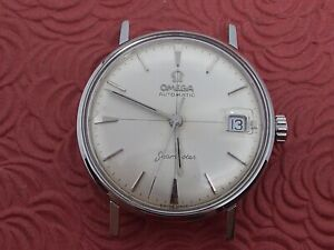 OMEGA SEAMASTER  AUTOMATIC CROSS-HAIR DIAL ALL STAINLESS STEEL SERVICED!!!