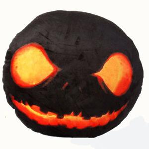 """The Nightmare Before Christmas Dark Evil Jack Skellington Plush Pillow 12"""" Xmas"""