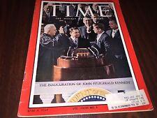 Time Magazine Jan 27 1961 Kennedy Inauguration