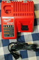 MILWAUKEE M18 / M12 MULTI-VOLTAGE BATTERY CHARGER 48-59-1812 BARE TOOL NEW!!