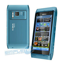 NOKIA N8 BLUE, TOUCH SCREEN,CAMERA CARL ZEISS 12MPX,16 GB,WIFI,BLUETOOTH