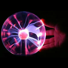 Touch Sensitive Plasma Ball Globe Constantly On USB Lighting Glowing Lamp Disco