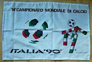 Orig.flag   World Cup ITALY 1990  -  CIAO  //  68 x 46 cm  !!  RARITY