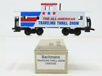 HO Scale Bachmann 43-1007 The All-American Traveling Thrill Show Caboose