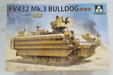 TAKOM 1/35 BRITISH APC FV432 MK.3 BULLDOG TANK 2 IN 1 MODEL TANK KIT 2067 NIB