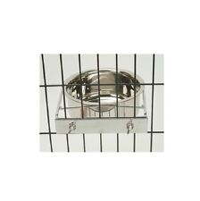 Coop Cup with Clamps Dog Bowl - 48 oz - Cages Kennels Stainless Steel
