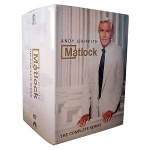 Matlock: The Complete DVD Series Season 1,2,3,4,5,6,7,8,9