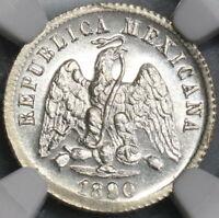 1890-Ga NGC MS 65 Mexico 10 Centavos Guadalajara Mint State POP 4/0 (19020403C)