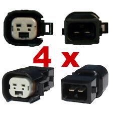 4 x Adaptateur connecteur injecteur BOSCH EV6 (Female) auf BOSCH EV1 (Male) kfz