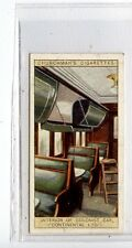 (Jc7371-100)  CHURCHMANS,FAMOUS RAILWAY TRAINS,INTERIOR OF COLONIST CAR,1929,#11