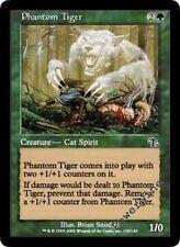 4 FOIL Phantom Tiger - Green Judgment Mtg Magic Common 4x x4