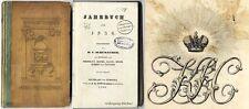 Exlibris Romanow, Романов, E.A. Gauss, Jahrbuch 1836 Rus. Geograph. Gesellschaft