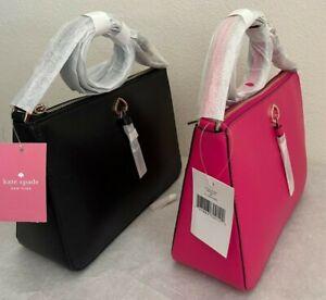 NWT Kate Spade Adel Medium Top Zip Leather Crossbody Bag $279 WKRU6725