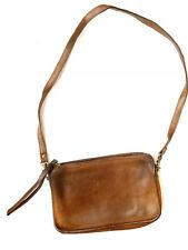 Vintage Coach Bonnie Cashin Brown Leather Wristlet Crossbody Clutch Bag Purse