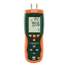 Extech HD350 Pitot Tube and Anemometer & Differential Manometer