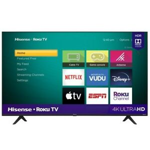"""Hisense 43"""" Class 4K UHD LED Roku Smart TV HDR 43R6E3"""